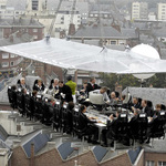 Dinner in the sky (Servicio disponible en todo el mundo)